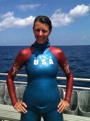 Ashley Futral freediving